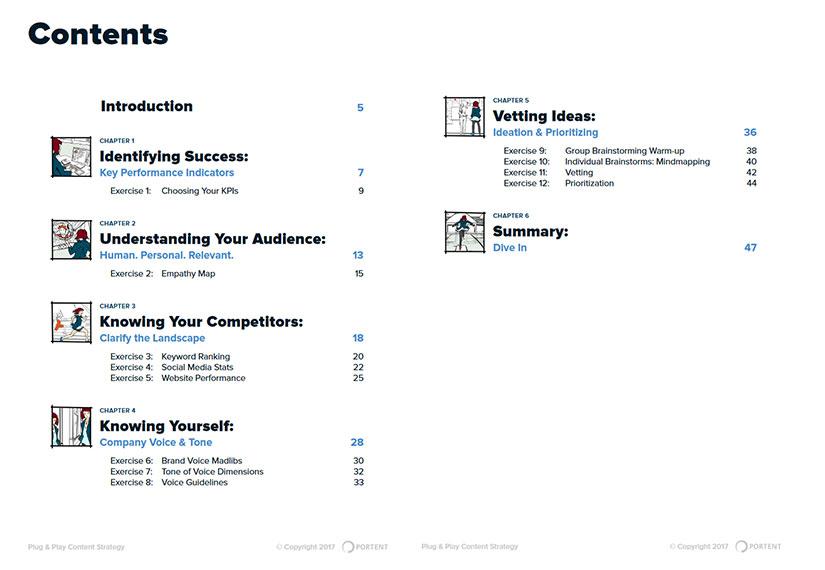 محتوای کتاب راهنمای کاربردی بازاریابی محتوا