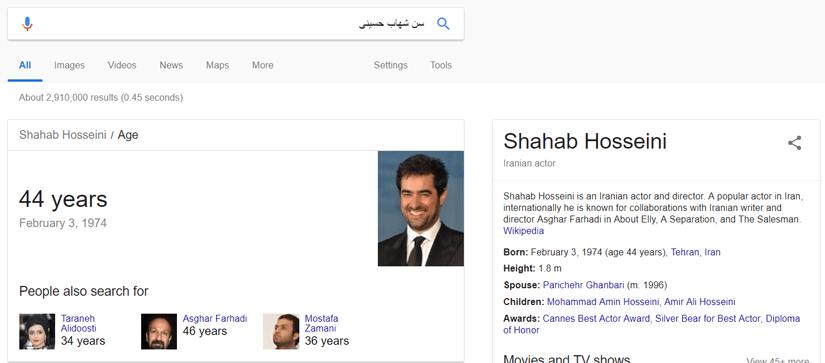 جستجوی معنایی در گوگل با استفاده از الگوریتم مرغ مگس خوار