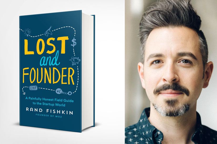 کتاب lost and founder نوشته rand fishkin