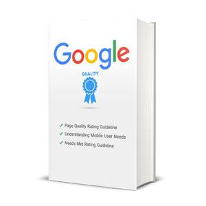 کتاب راهنما ارزیابی ارزش صفحات از دید گوگل