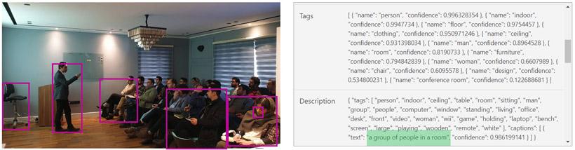 درک موضوع و محتوای تصویر با استفاده از ابزارهای هوش مصنوعی