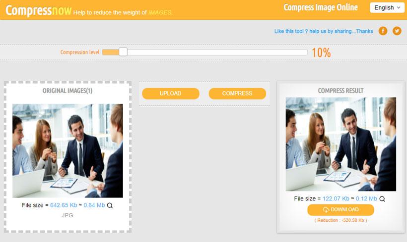 کاهش حجم عکس با فرمت gif به صورت آنلاین